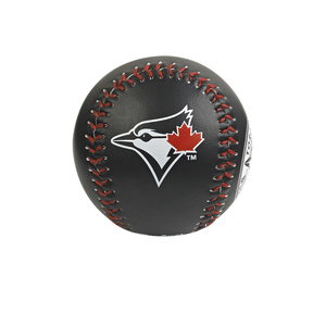 Basic Logo Baseball Black With Red Leaf by Rawlings