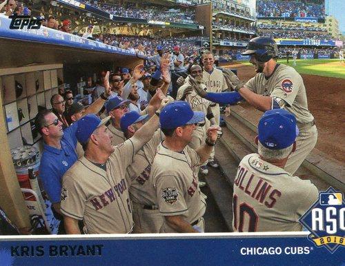 Photo of 2016 Topps Update All-Star Game Access #MLB5 Kris Bryant