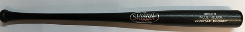 Photo of Willie Nelson Unsigned Louisville Slugger Bat