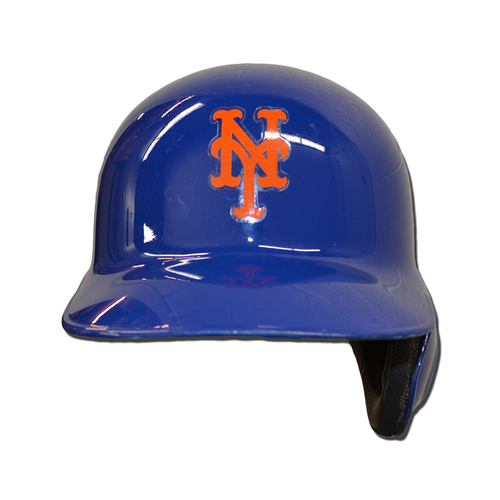Photo of Rene Rivera #44 - Game Used Batting Helmet - 2016 Wild Card Game - Mets vs. Giants - 10/5/16