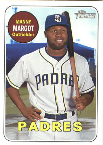 Photo of 2018 Topps Heritage #376 Manny Margot