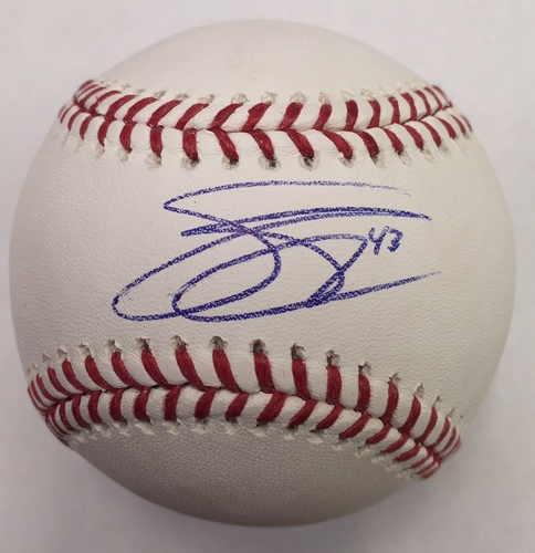 Photo of Scott Schebler Autographed Baseball