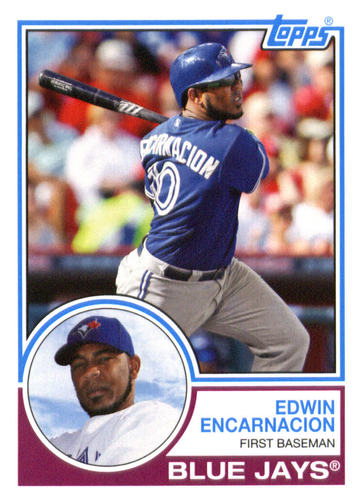 Photo of 2015 Topps Archives #277 Edwin Encarnacion