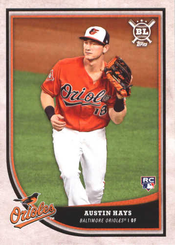 Photo of 2018 Topps Big League #77 Austin Hays RC