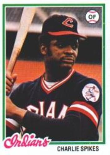 Photo of 1978 Topps #459 Charlie Spikes