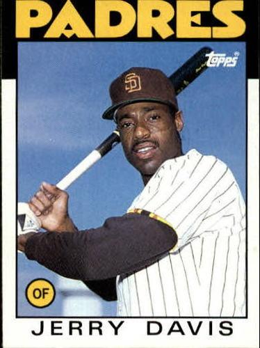 Photo of 1986 Topps #323 Jerry Davis