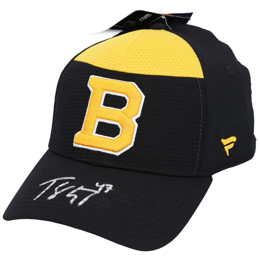Torey Krug Boston Bruins Autographed Alternate Logo Cap - NHL Auctions Exclusive