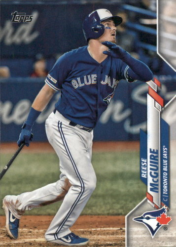 Photo of 2020 Topps #109 Reese McGuire
