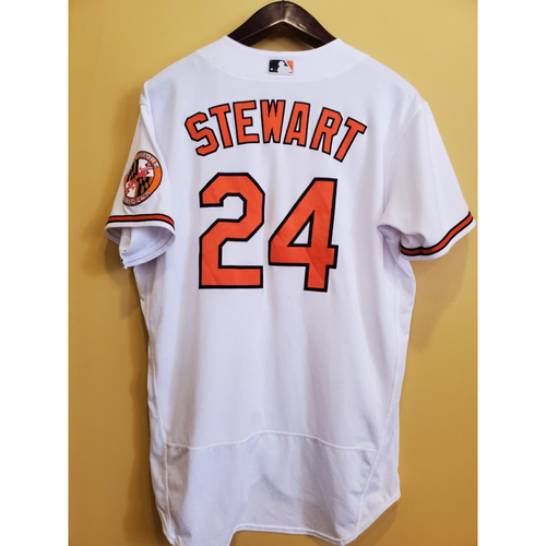 Photo of DJ Stewart - Home Jersey: Game Used Mother's Day