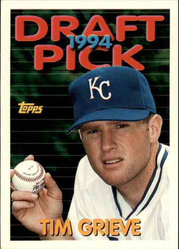 Photo of 1994 Topps Traded #66T Tim Grieve RC