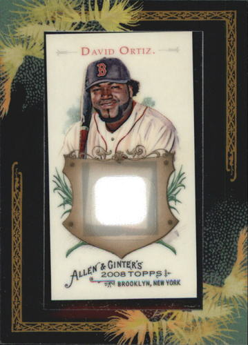 Photo of 2008 Topps Allen and Ginter Relics #DO1 David Ortiz Jsy