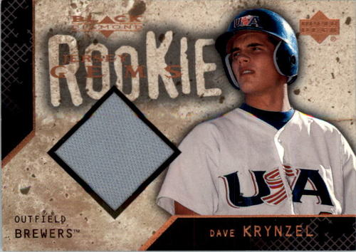 Photo of 2000 Black Diamond Rookie Edition #124 Dave Krynzel JSY RC