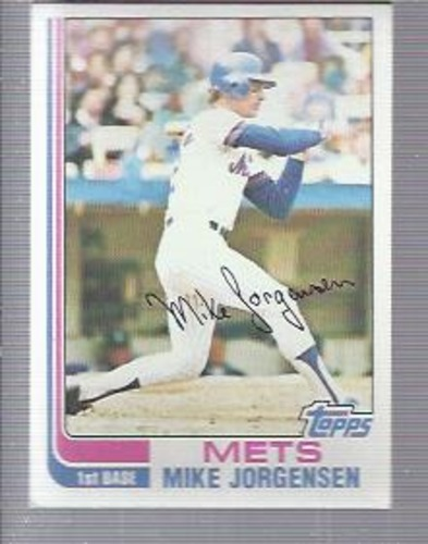Photo of 1982 Topps #566 Mike Jorgensen
