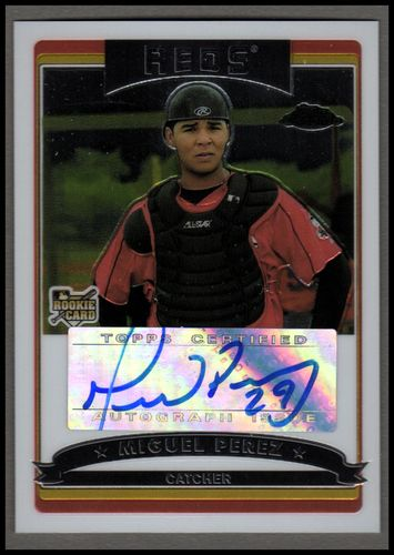 Photo of 2006 Topps Chrome #342 Miguel Perez AU (RC)