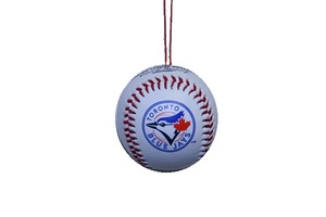 Mini Replica Baseball Ornament by Rawlings