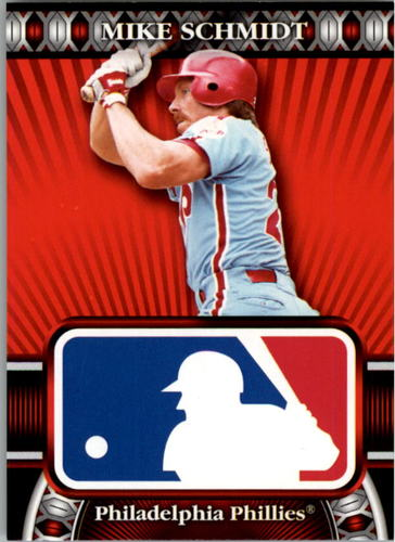 Photo of 2010 Topps Logoman HTA #3 Mike Schmidt