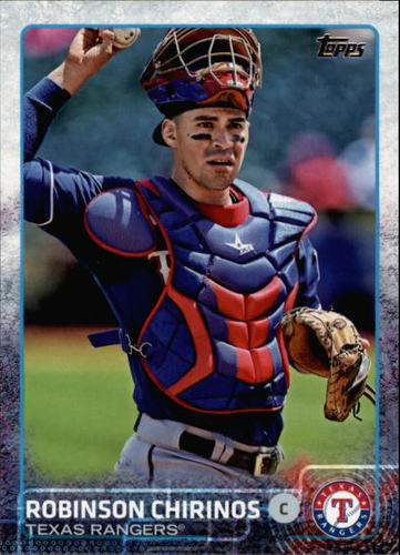 Photo of 2015 Topps #359 Robinson Chirinos
