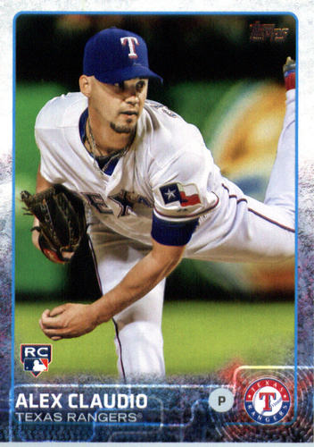 Photo of 2015 Topps Update #US8 Alex Claudio RC