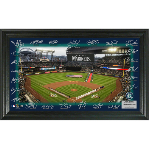 Photo of Seattle Mariners 2018 Signature Field