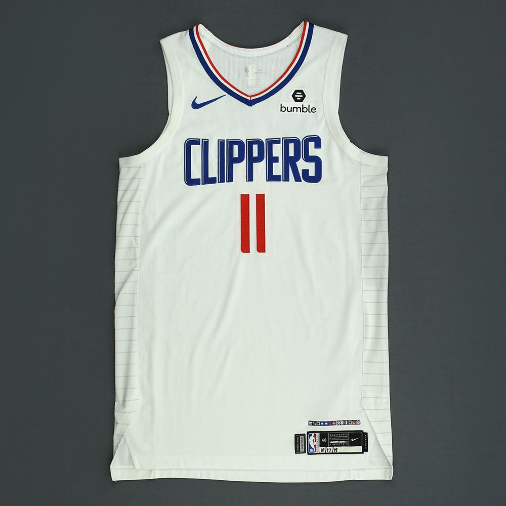 Avery Bradley - Los Angeles Clippers - Kia NBA Tip-Off 2018 - Game-Worn Association Edition Jersey