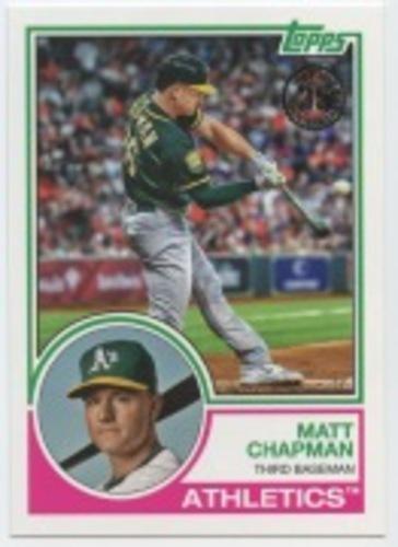 Photo of 2018 Topps Update '83 Topps #8322 Matt Chapman