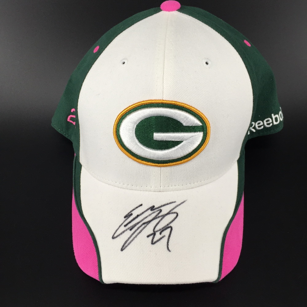 PCF - Packers Eddie Lacy Signed BCA Reebok Hat
