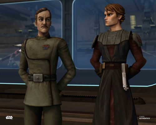 Anakin Skywalker and Admiral Yularen