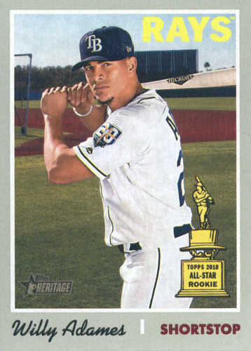 Photo of 2019 Topps Heritage #211 Willy Adames