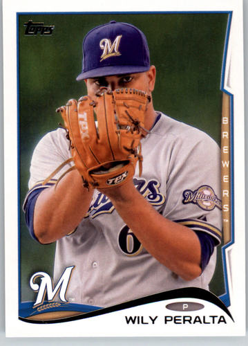 Photo of 2014 Topps #96 Wily Peralta