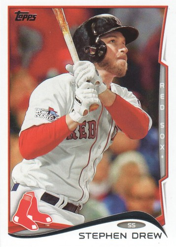 Photo of 2014 Topps #585 Stephen Drew