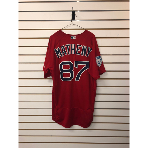 Photo of Tate Matheny Team-Issued 2019 Spring Training Jersey