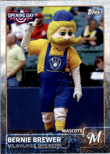 Photo of 2015 Topps Opening Day Mascots #M16 Bernie Brewer
