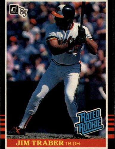 Photo of 1985 Donruss #45 Jim Traber RC