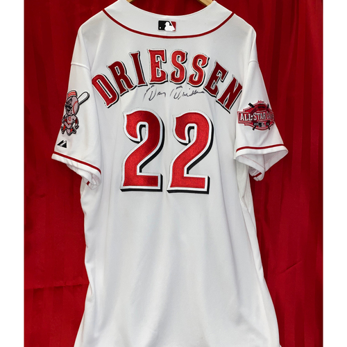 Photo of Dan Driessen Signed Jersey