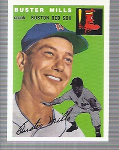 Photo of 1994 Topps Archives '54 #227 Buster Mills CO