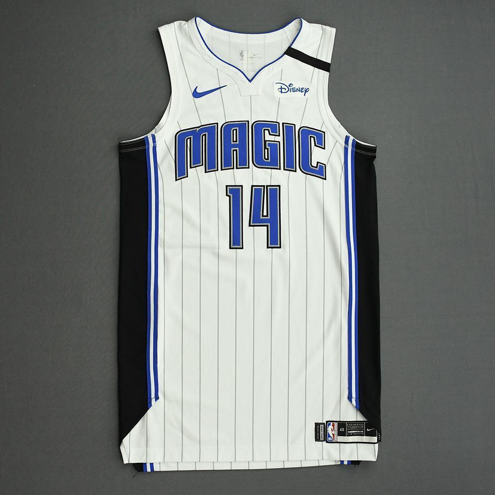 D.J. Augustin - Orlando Magic - Game-Worn Association Edition Jersey - 2019-20 NBA Season Restart with Social Justice Message