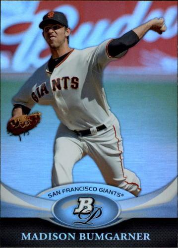 Photo of 2011 Bowman Platinum #33 Madison Bumgarner