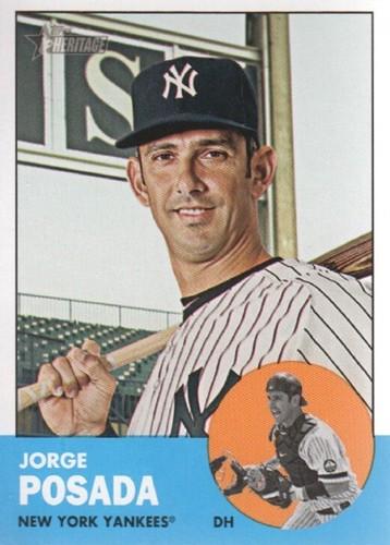 Photo of 2012 Topps Heritage #330 Jorge Posada