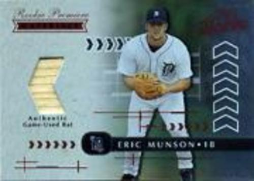 Photo of 2001 Absolute Memorabilia #177 Eric Munson RPM