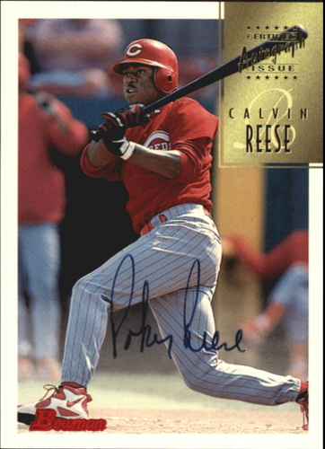 Photo of 1997 Bowman Certified Black Ink Autographs #CA64 Pokey Reese