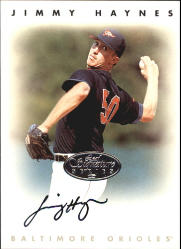 Photo of 1996 Leaf Signature Autographs Silver #99 Jimmy Haynes