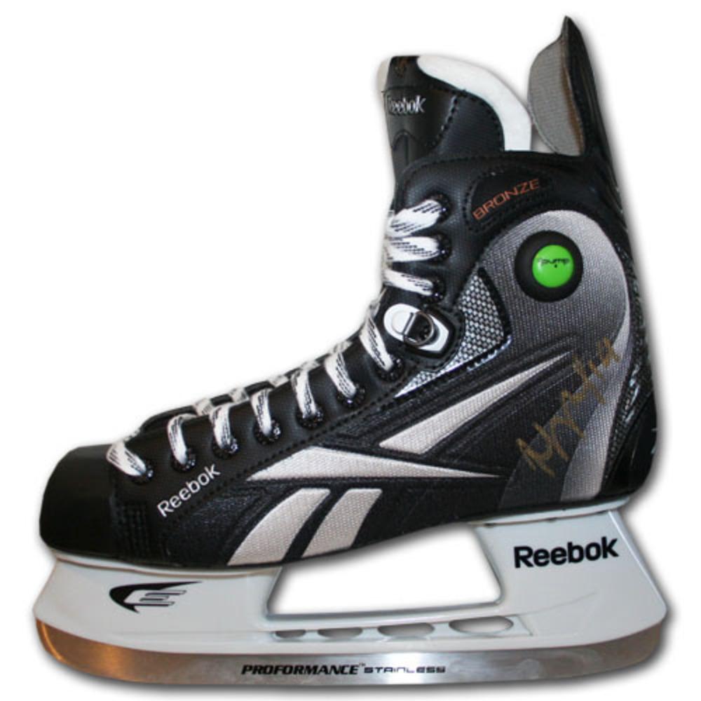 Joffrey Lupul Autographed Reebok Bronze Hockey Skate (Toronto Maple Leafs)