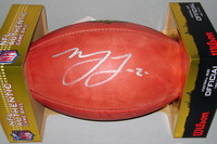 NFL - SAINTS MARSHON LATTIMORE SIGNED AUTHENTIC FOOTBALL