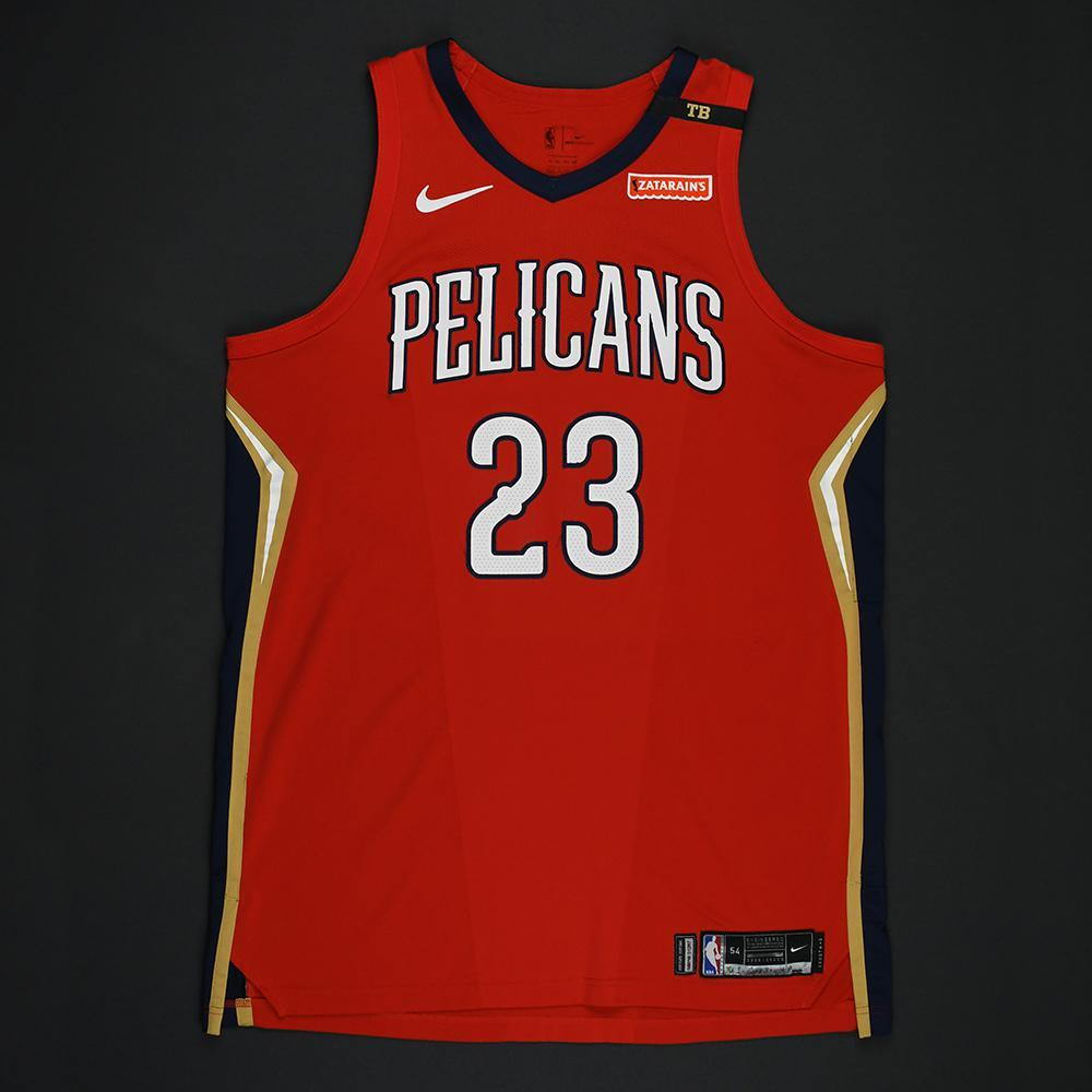 online store f96b8 00ee9 Anthony Davis - New Orleans Pelicans - 2018 NBA Playoffs ...