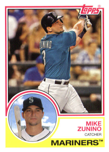 Photo of 2015 Topps Archives #282 Mike Zunino