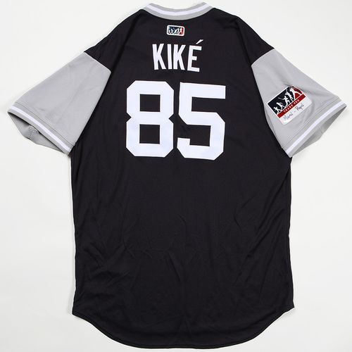 "Photo of Louis ""Kike"" Cessa New York Yankees Team Issued Jersey 2018 Players' Weekend Jersey"