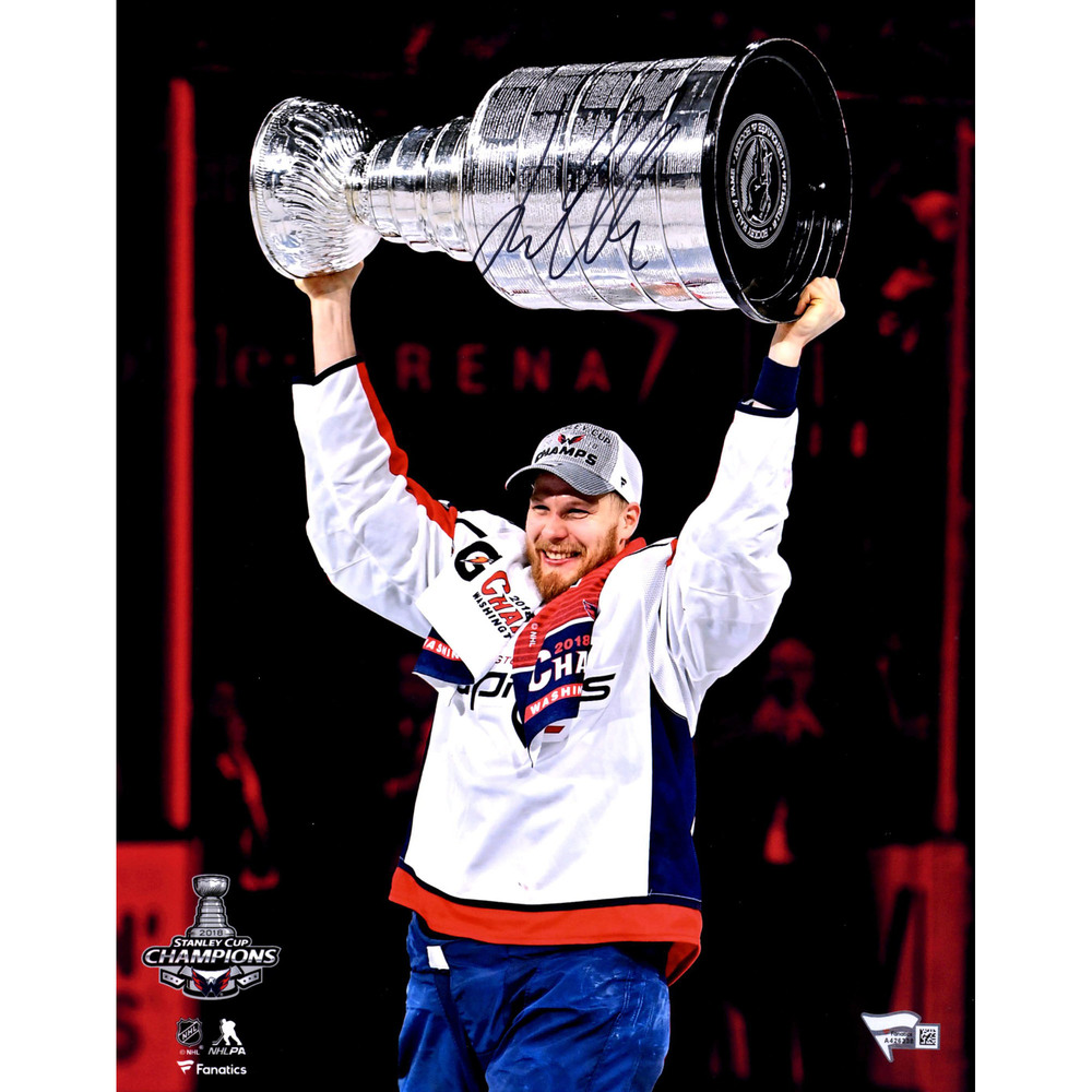 Lars Eller Washington Capitals Autographed 11