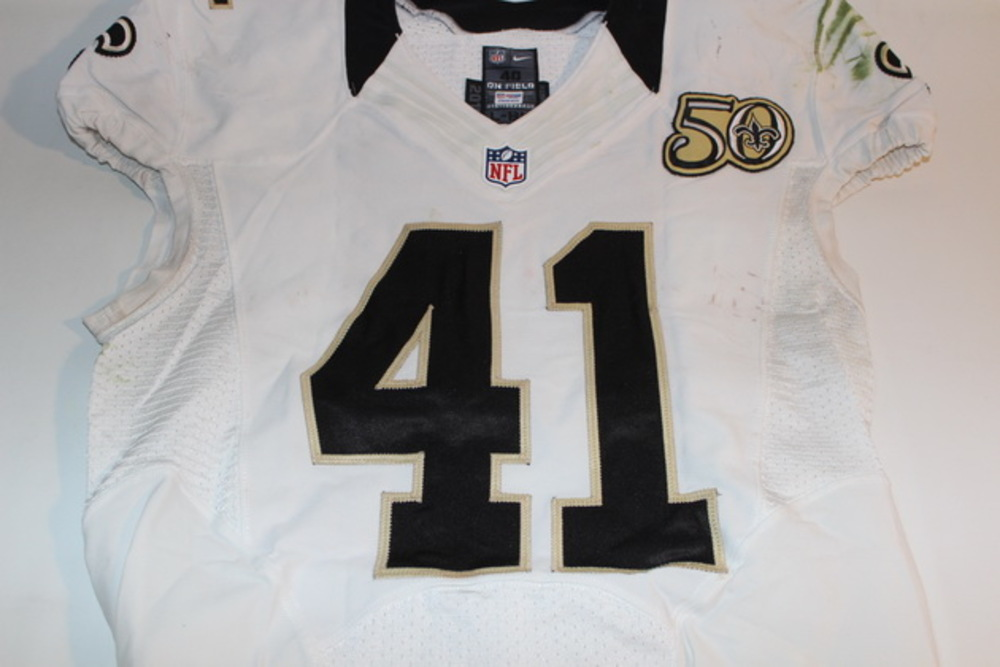 BCA - SAINTS ROMAN HARPER GAME WORN SAINTS JERSEY (OCTOBER 23, 2016)