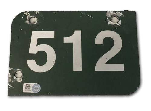 Photo of Wrigley Field Collection -- Aisle Marker 512 -- Removed after 2018 Season