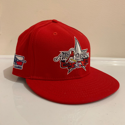 Photo of 2016 Texas League All Star Game -  Game Used Cap  - Jordan Kipper (Los Angeles Angels) Size - 7 -3/8